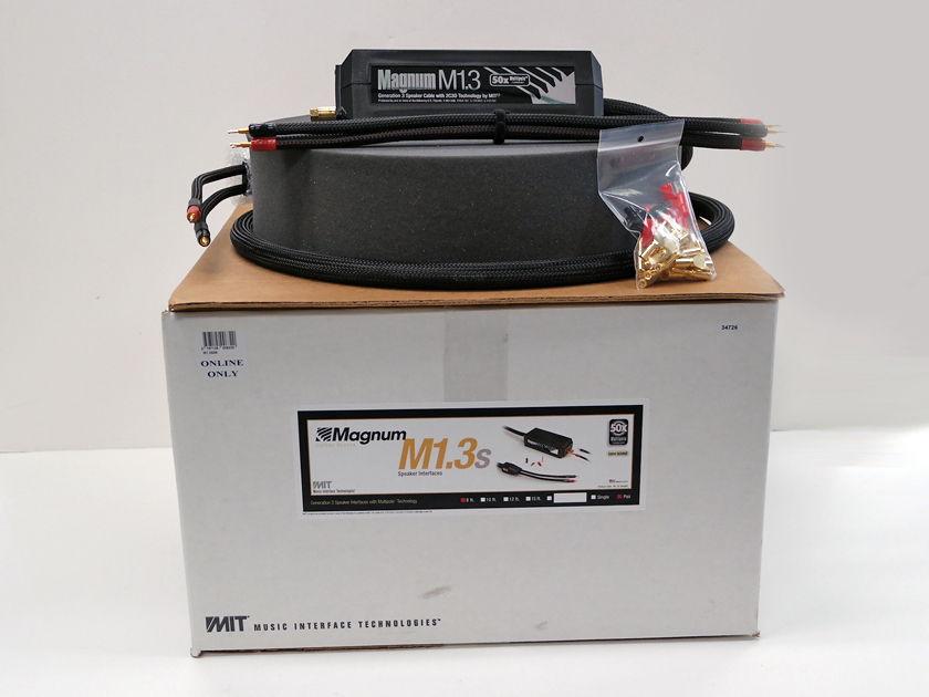 MIT Magnum M1.3 8ft pair, 60% OFF! New-in-Box