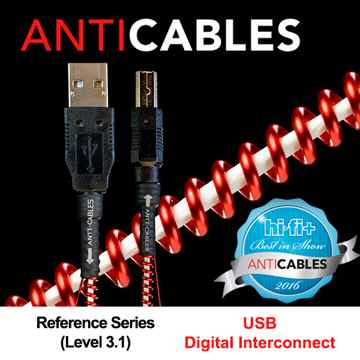 ANTICABLES Level 3.1 Reference Series USB Digital Inter...