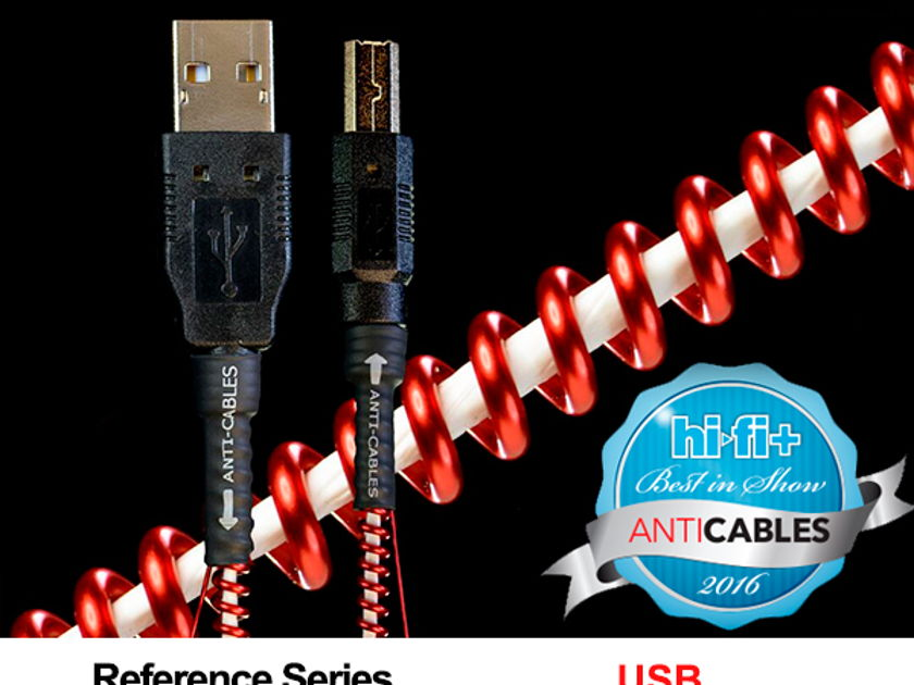 ANTICABLES Level 3.1 Reference Series USB Digital Interconnect