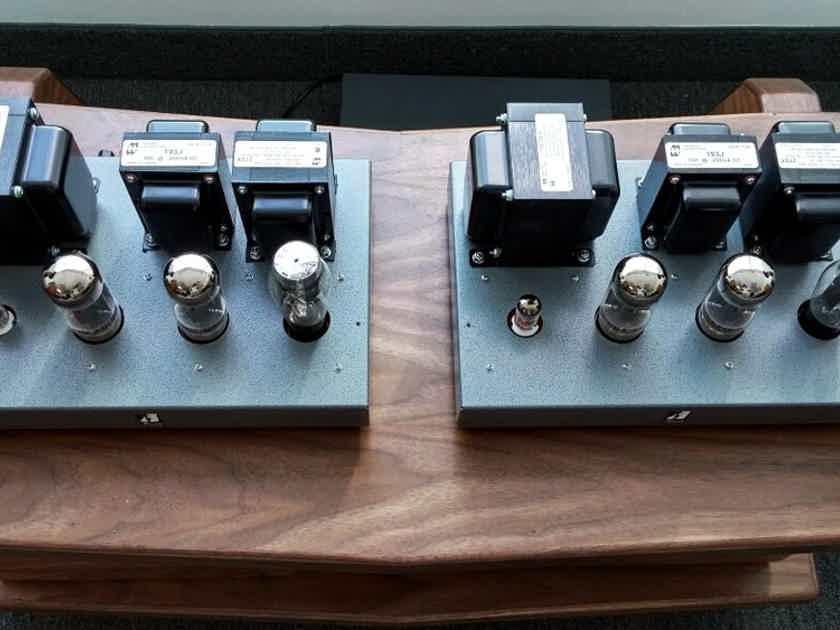 Finale Audio F40-II KT88 / 6550 Single Ended Mono Blocks Class A Autobias