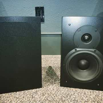 Triad Speakers InRoom Classic Silver Bookshelf Speakers