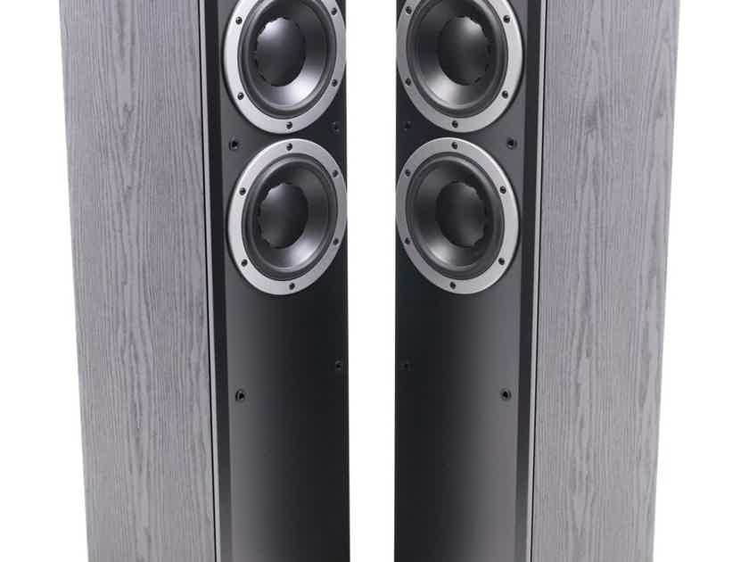 Dynaudio DM 3/7 Floorstanding Speakers; Black Ash Pair (21559)