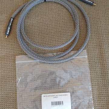Silver Serpent Digital Coax SPDIF cable 2M, NEW!