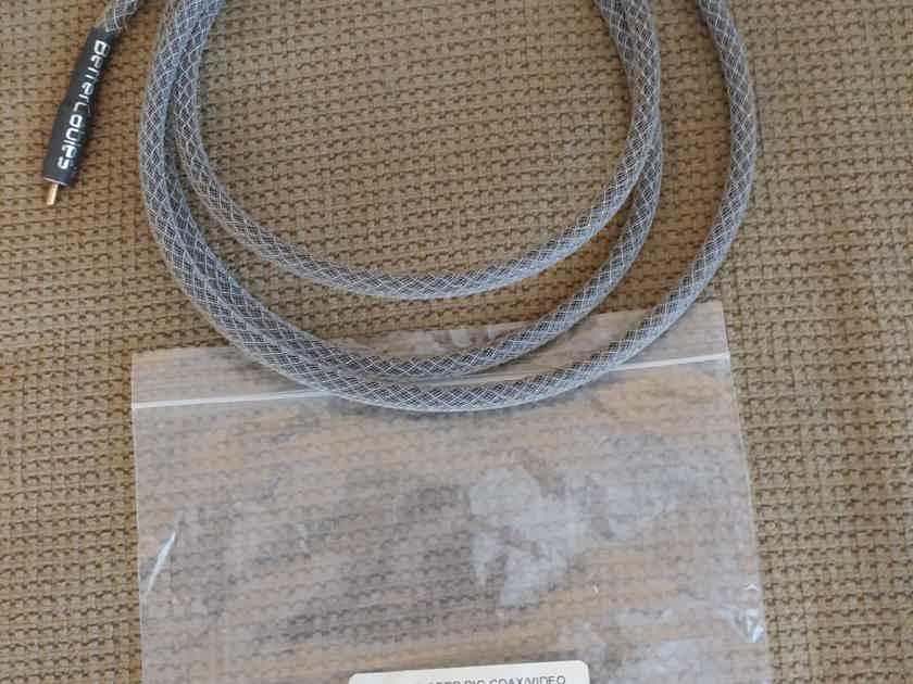 BetterCables.com Silver Serpent Digital Coax SPDIF cable 2M, NEW!