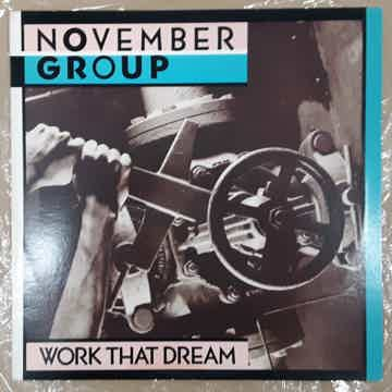 NOVEMBER GROUP - WORK THAT DREAM 1985 NM+ PROMO LP STER...