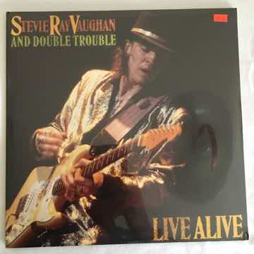 "SEALED Stevie Ray Vaughan ""Live Alive"" Orig (1986) U.S..."