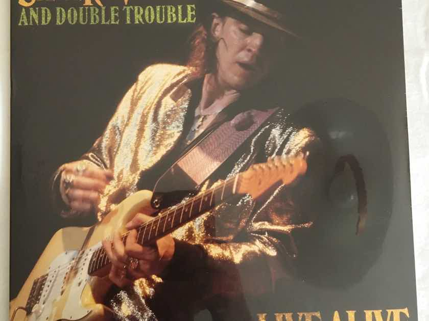 "SEALED Stevie Ray Vaughan ""Live Alive"" Orig (1986) U.S. Epic 2 X LP Gfld...    $35  OBO"