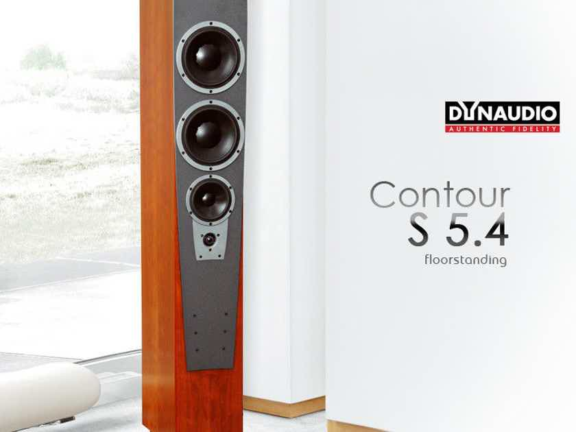 Dynaudio Contour S5.4 speakers Absolutely Gorgeous! price lowered again!!
