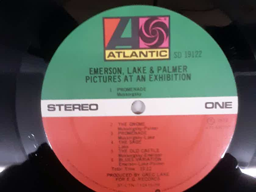 Emerson, Lake & Palmer - Pictures At An Exhibition 1977 NM Vinyl LP Reissue Atlantic SD 19122
