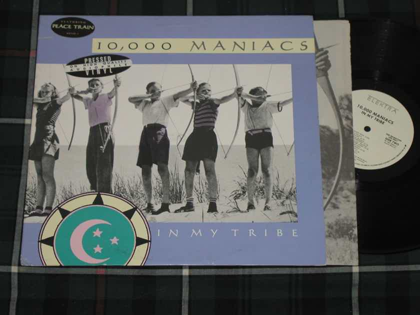 "10,000 Maniacs ""In My Tribe""  - Elektra/Asylum 60738-1 White Label Promo *TAS Super LP*"