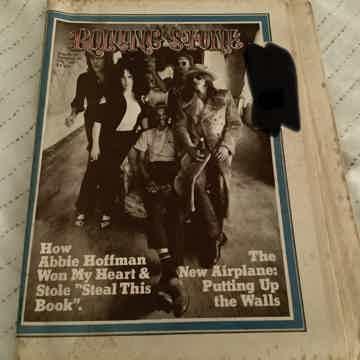 Jefferson Airplane Rolling Stone Magazine 1971 The New Airplane