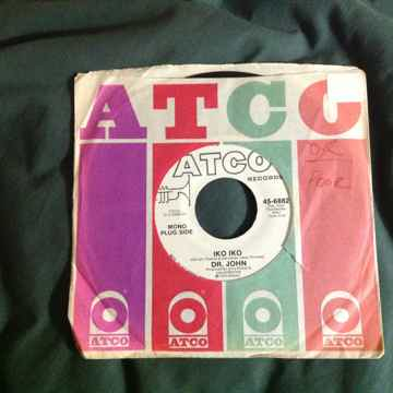 Dr. John - Iko Iko Promo Mono Stereo 45 Single  Atco Re...