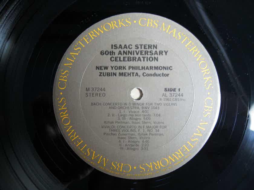Isaac Stern /  Zubin Mehta / New York Philharmonic - Isaac Stern 60th Anniversary Celebration - 1981 CBS Masterworks M 37244