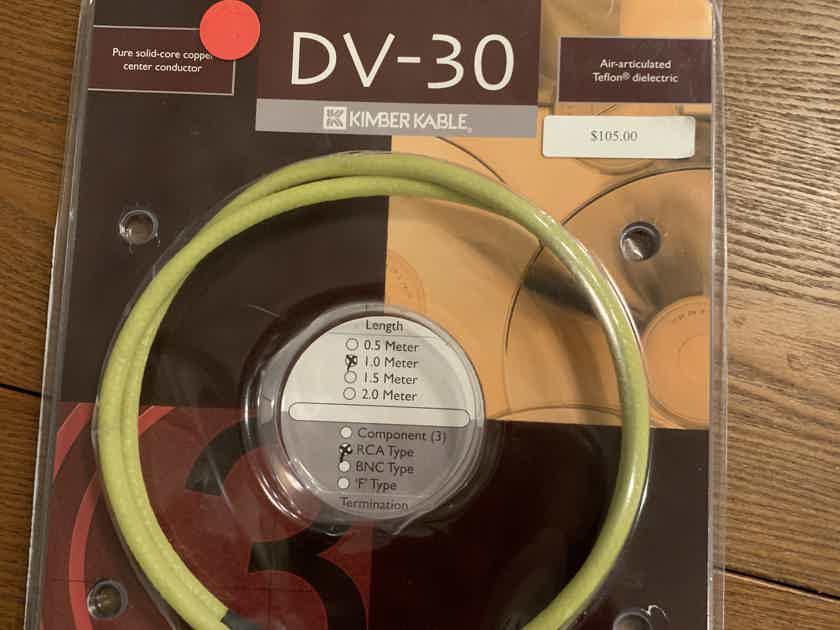 Kimber Kable DV-30 Digital Coax Interconnect 1 meter