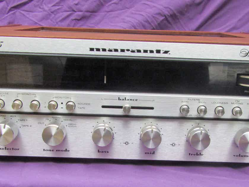 Marantz 2285 Stereo Receiver With Wood Casing Beautiful and Rare