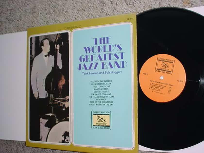 The worlds greatest jazz band lp record  Hank Lawson Bob Haggart EVEREST FS 314