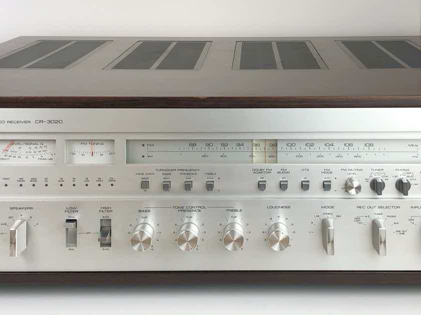 Yamaha CR 3020 MONSTER AM FM Stereo Receiver AMP WORKING!!