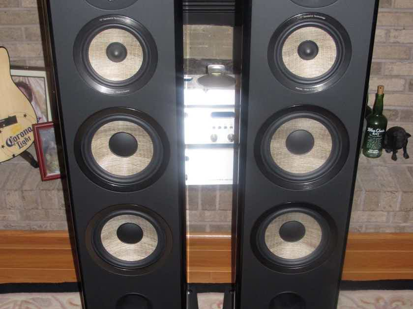 Focal Aria 948 in Black Piano Lacquer Awesome Speakers for the Money Price lowered again