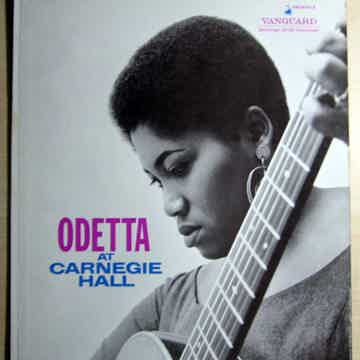 Odetta - At Carnegie Hall - 1960 Mono Vanguard Records ...