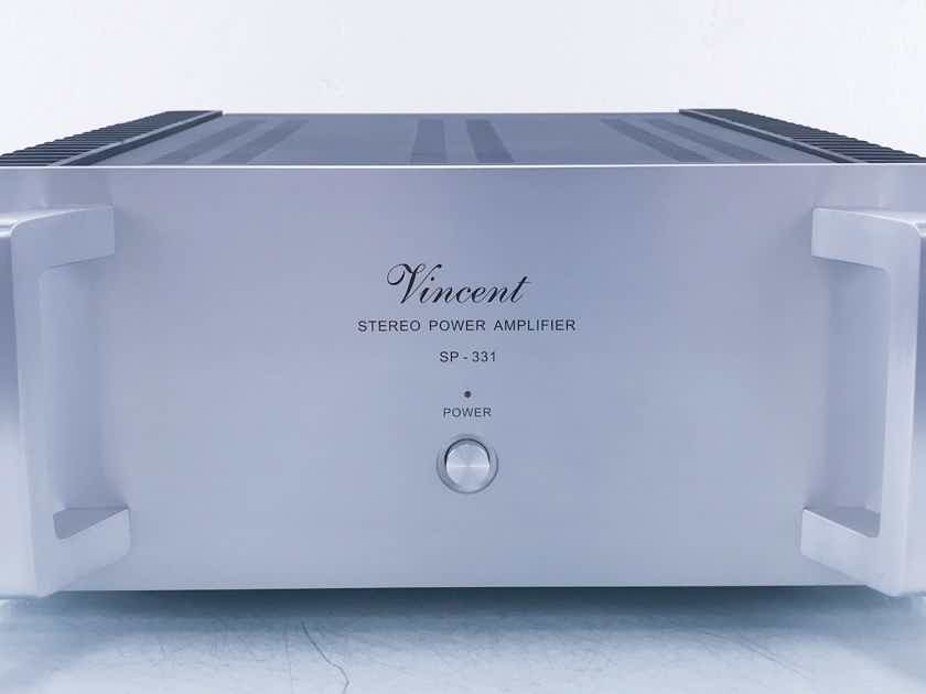 Vincent SP-331 Hybrid Stereo Power Amplifier (11257)