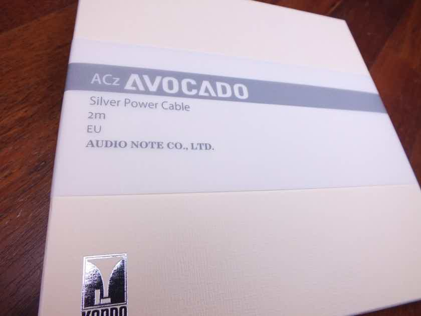 Kondo AudioNote Japan ACz Avocado silver power cable 2,0 metre BRAND NEW