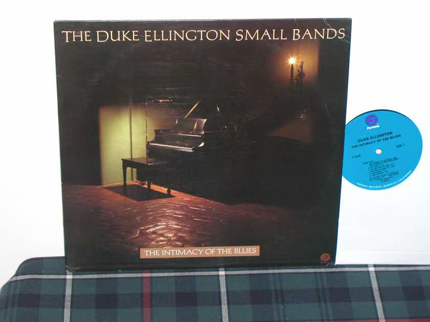 The Duke Ellington Small Bands - The Intimacy Of The Blues Fantasy F-9640 Late 70's/Early 80's