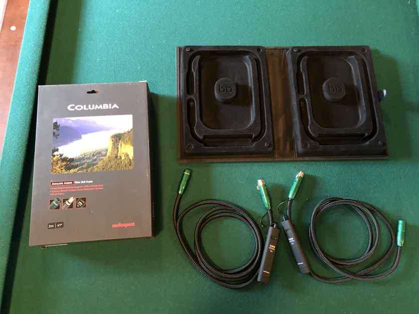 AudioQuest Columbia 2M with XLR Cable with 72V DBS