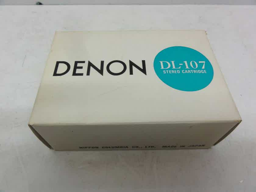 """""""New Other / Mint"""" Denon DL-107 MM Phono Cartridge (Ultra Rare)  - Never Mounted Stored 50+ Years Temperature / Humidity Controlled Environment"""""""