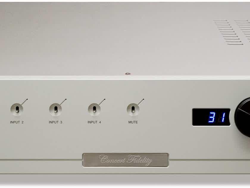 Concert Fidelity CF080 LSX2 Preamplifier (((HUGE PRICE DROP)))
