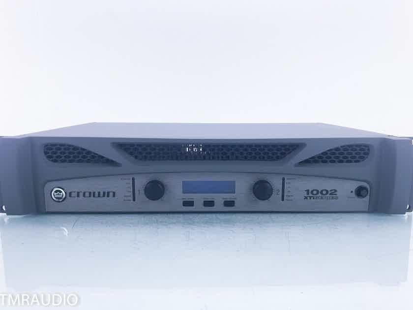Crown XTi 1002 Stereo Power Amplifier; XTi2 Series (17281)