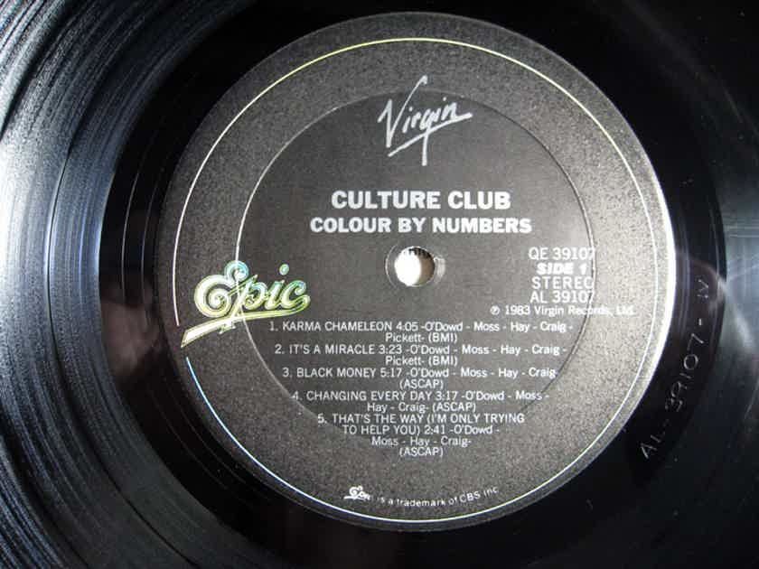 Culture Club - Colour By Numbers - Promo Stamped - STERLING Mastered - 1983 Virgin QE 39107