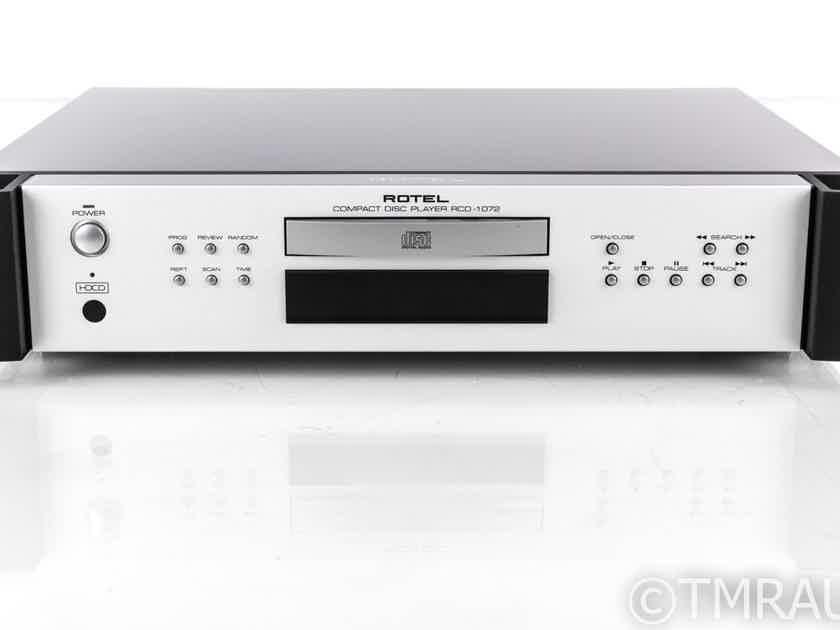 Rotel RCD-1072 CD Player; RCD1072; Remote; HDCD (20223)