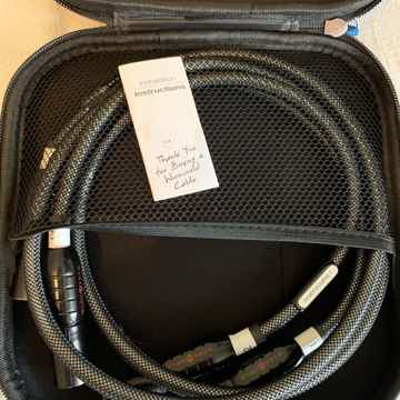 Silver Eclipse 7 XLR Balanced Interconnect Pair (1 Meter)