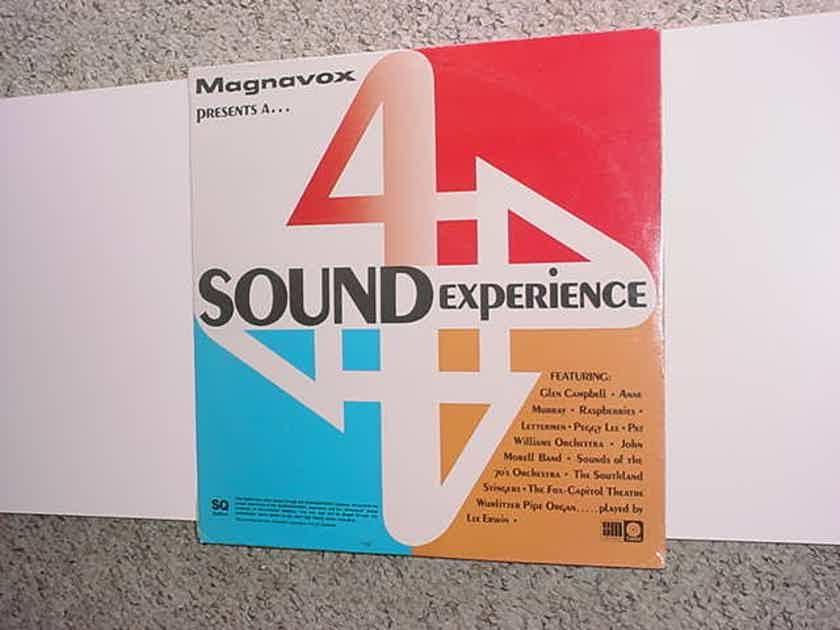 SEALED Magnavox presents 4 sound experience - SQ System Quadraphonic lp record SM CAPITOL QL-6953