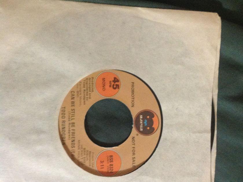 Todd Rundgren - Can We Still Be Friends(Edit) Promo Mono Stereo 45 NM