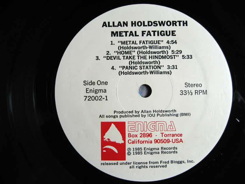 Allan Holdsworth With I.O.U. - Metal Fatigue - US First Pressing 1985 Enigma Records 72002-1