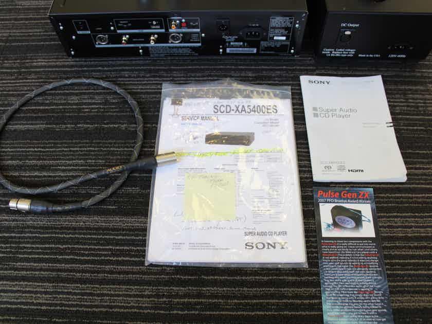 Sony SCD-XA5400es ModWright Truth Tube Mod, plus Audio Magic ++