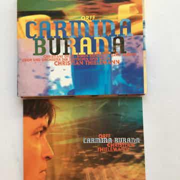 Orff Christian Thielemann  Carmina Burana Cd deutsche Grammophon 1999 See add