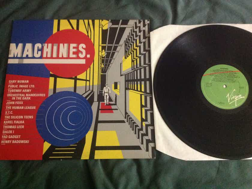 Various PIL X.T.C. John Foxx Others - Machines. Virgin Records U.K. Import Stampers A-2 B-1 Vinyl NM