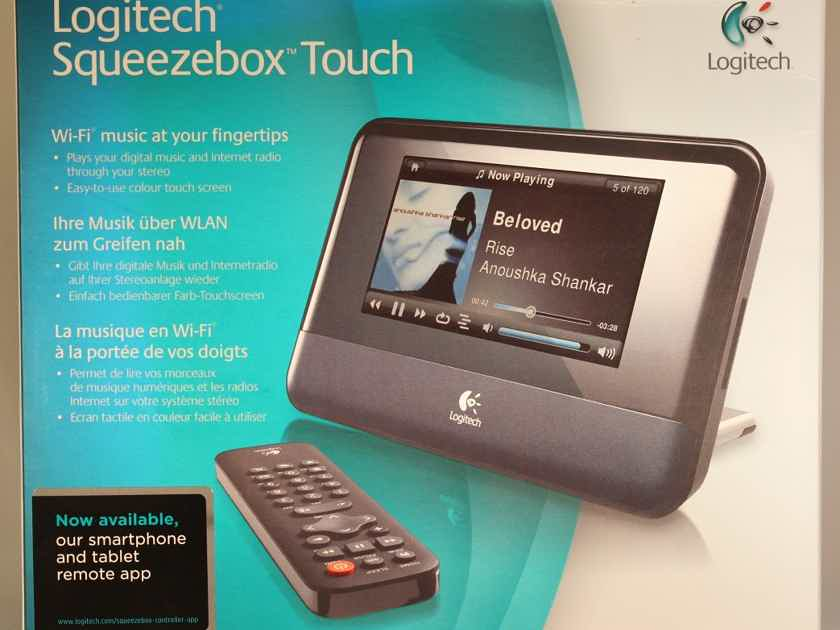 Logitech Squeezebox Touch Network Music Player. NEW!