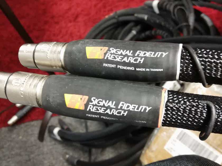 Signal Fidelity Research Signal Cables Formerly Sunny Cable a Stereotimes Favorite 1-1.5m lengths
