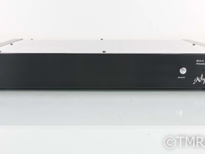 Klyne Audio Arts 7PX3 MM / MC Phono Preamplifier; Power Supply; Acrylic Top (19247)