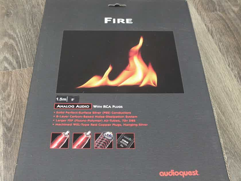 AudioQuest Fire interconnects RCA 1,5 metre