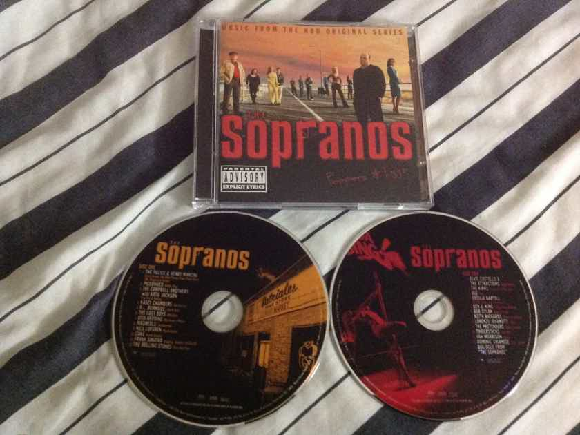 Soundtrack The Sopranos - Peppers & Eggs 2 Disc Super Audio CD SACD