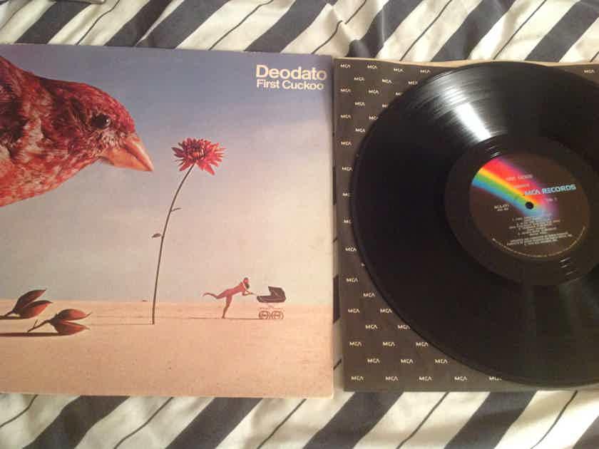 Deodato  First Cuckoo MCA Records Rainbow Label
