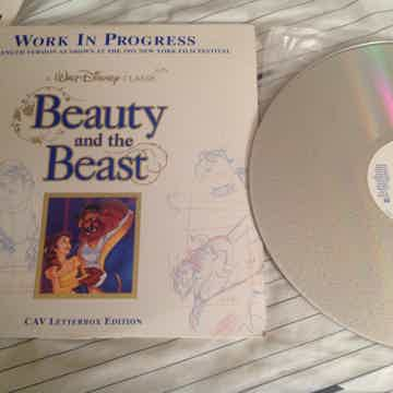 Walt Disney  Beauty And The Beast CAV Letterbox Full Le...