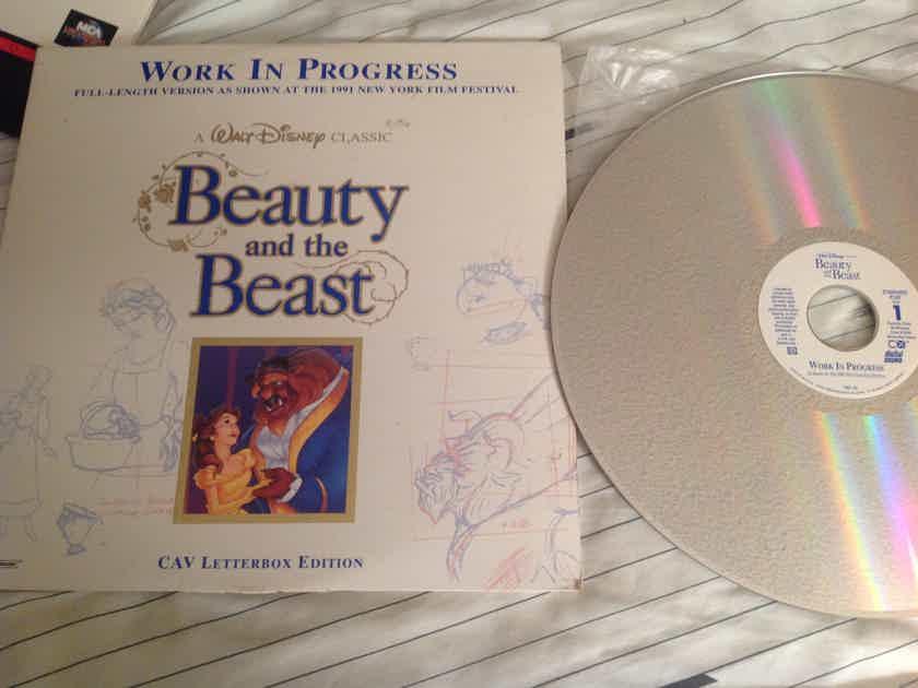 Walt Disney  Beauty And The Beast CAV Letterbox Full Length Version