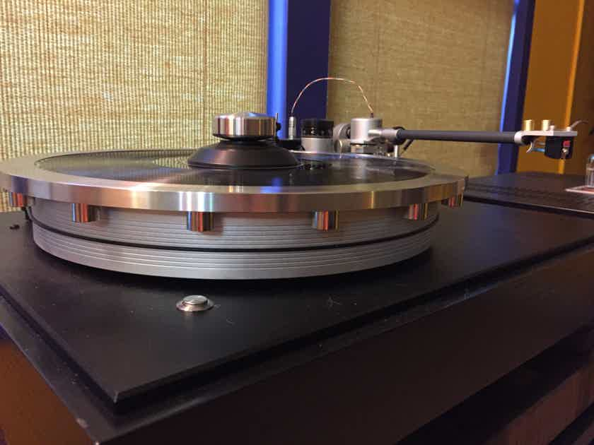 Wayne's Audio Turntable Periphery Stabilizing Outer Ring Clamp SS-3 for VPI Clearaudio Sota Linn Rega Micro Seiki Hanss Basis