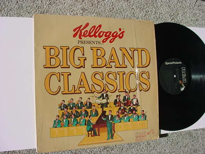 KELLOGGS Big Band classics - lp record RCA 1980 HINES DORSEY HAMPTON MILLER DUKE More