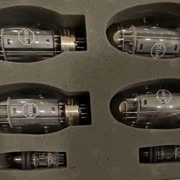 Audio Research TUBE SET GSi75, REF75SE, REF 80S, VT80SE, 0ne REF160SVSi75